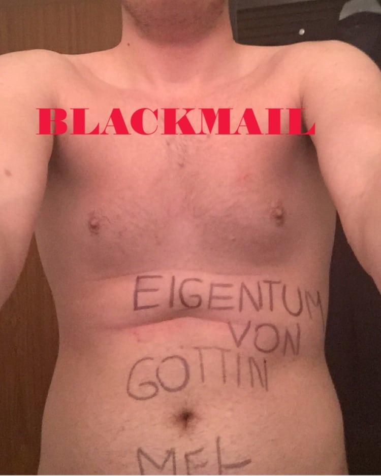 Mein aktuellster, neuer Blackmail - Sklave