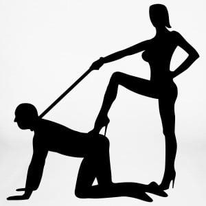domina-sklave-hochzeit-ehe-junggeselle-junggesellenabschied-game-over-sexsklavin-domina-peitsche-langarmshirts-frauen-langarmshirt