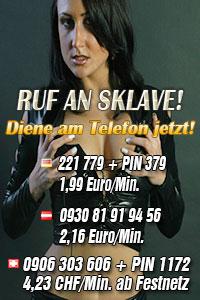 Telefonerziehung, Ruf an Sklave!