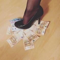 Geld schuhe